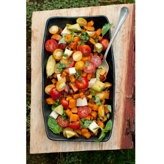 Butternut Caprese Salad