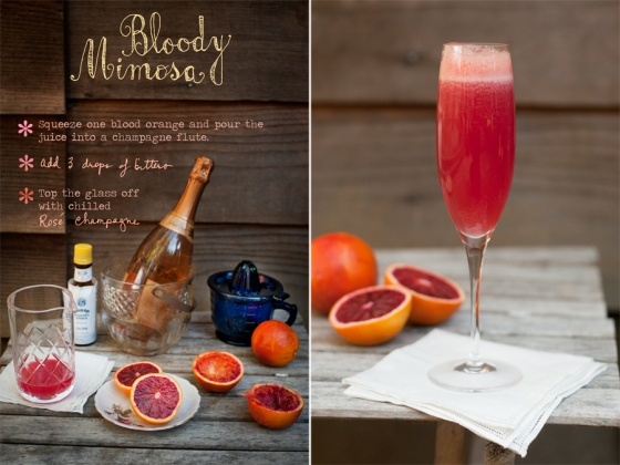 Forest Feast Bloody Mimosa