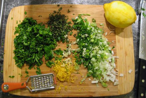 herbs for smoked mackerel fish cakes