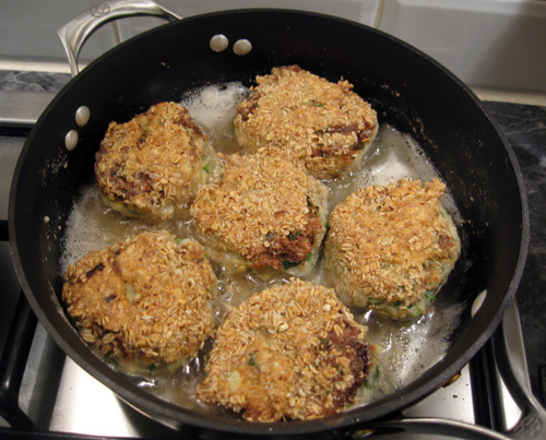 Cooking Gluten Free Fish Cakes