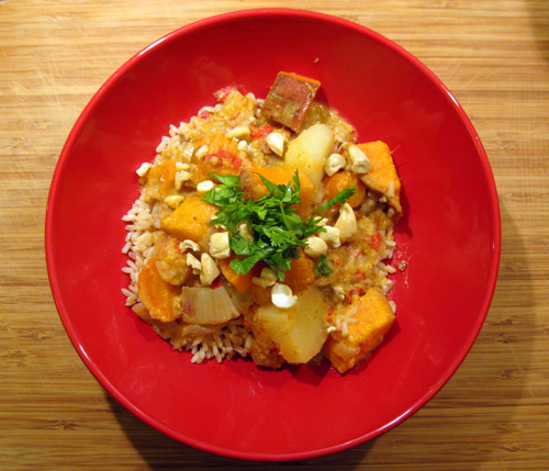 Sweet Potato Massaman Curry